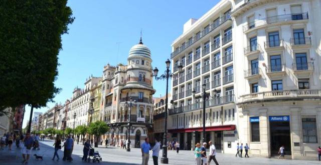 La antigua sede de Banco de Andalucía en Sevilla se convertirá en un hotel y locales comerciales