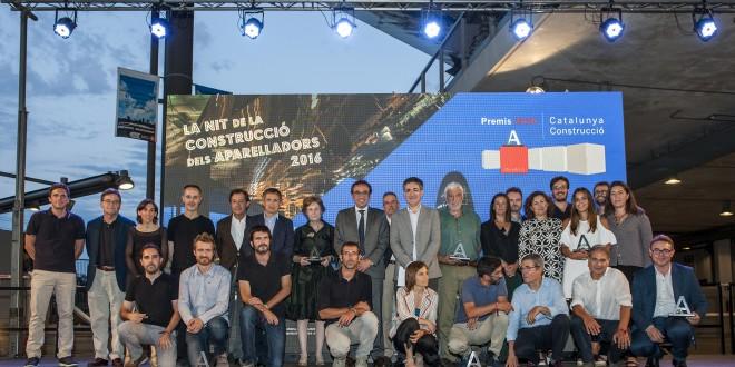 El Campus Diagonal-Besós y la antigua sede de la ONCE en Barcelona ganan  los Premios Cataluña Construcción 2016