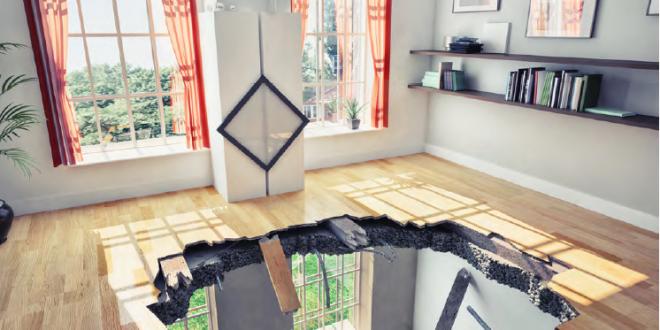 Daños causados por un terremoto en la vivienda, ¿quién lo cubre?