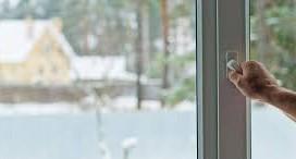 Aislamiento de ventanas contra el frío