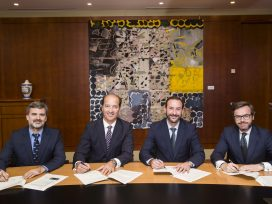 Bankia y tucomunidad.com firman un acuerdo por el cual la entidad bancaria ofrecerá productos financieros a las Pymes y autónomos usuarios del portal