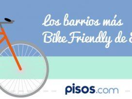 ¿Vives en un barrio 'bike-friendly'?