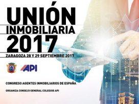"""250 profesionales de toda España participan en el Congreso Nacional API """"Unión Inmobiliaria"""" en Zaragoza"""