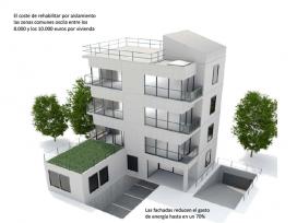 Rehabilitar la fachada y el tejado abarata la factura energética de los hogares hasta en 1.500 euros al año