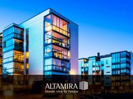 La compañía Altamira ofrece dos promociones de obra nueva en Zaragoza