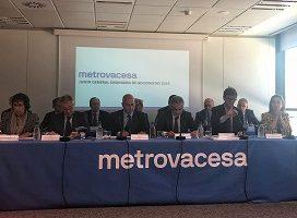 La Junta General de Metrovacesa aprueba un dividendo de 50 millones de euros