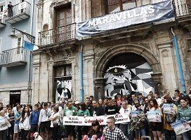 El 9 de mayo comenzó el juicio contra 22 investigados por la ocupación ilegal del Palacio del Marqués de Rozalejo de Pamplona