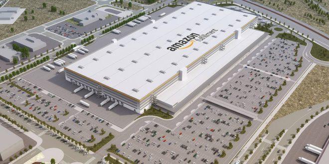 Una gestora alemana pone a la venta el centro logístico de Amazon en Getafe