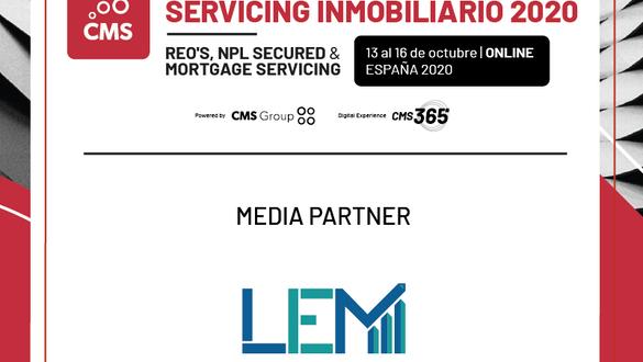 LEM Loan eMarket, el primer marketplace de deuda hipotecaria de Europa, se convierte en media sponsor del Congreso Nacional de Servicing Inmobiliario 2020